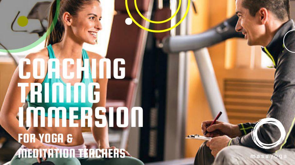 「ヨガ瞑想指導者のためのコーチング&コーチ養成講座」