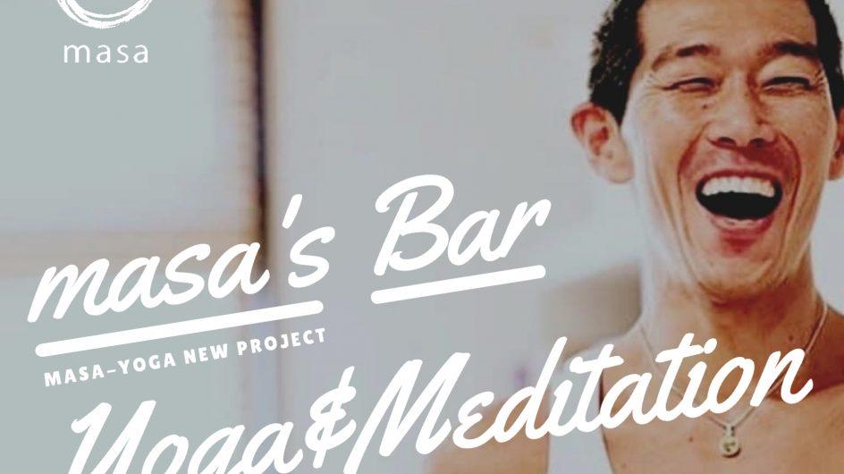 「masa's Bar」for Yoga, Meditation, and Healing